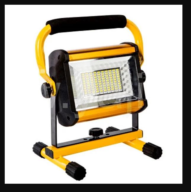 Аккумуляторный прожектор W808 / 6 * 18650 / 100W