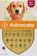 Advocate Bayer для собак від 10 до 25 кг, 1 піпетка