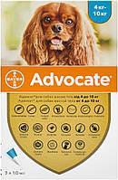 Advocate Bayer для собак 4-10 кг, 1 піпетка