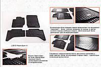 Mitsubishi Pajero Sport 2015-2021 резиновые коврики Stingray Premium