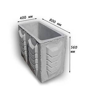 Цветочница бетонная К2 (180 кг. 80х40х56)