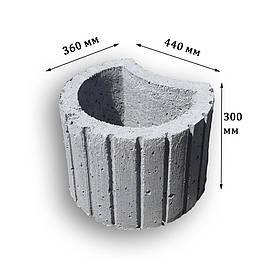 Цветочница бетонная К-11 (28 кг. 44*36*30)