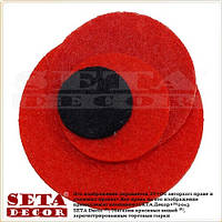 Значок Красный Мак, брошь, цветок, символ памяти. Оптом и в розницу.