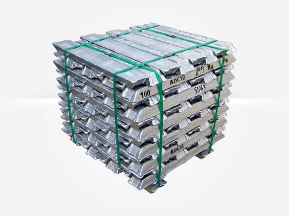 Алюминиевая чушка АК7М2,5МГМН, фото 2