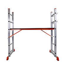 Лестница-помост алюминиевая Laddermaster Altair A8A6. 2x6 ступенек