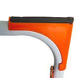 Стремянка стальная Laddermaster Intercrus S1A4. 4 ступеньки, фото 5