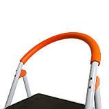Стремянка стальная Laddermaster Intercrus S1A4. 4 ступеньки, фото 6