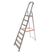 Стремянка алюминиевая Laddermaster Vega A1B8. 8 ступенек