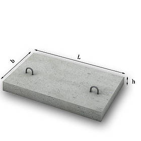 Плита тротуарная 5П7-И  500х750х80мм