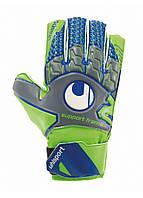 Вратарские перчатки Uhlsport Tensiongreen Soft SF Junior Size 6 Green/Blue, фото 1