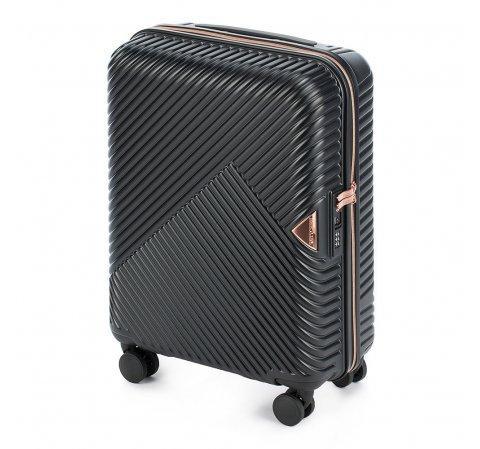 Wittchen чемодан 56-3П-841-10  ручная кладь 56-3P-841-10 черный витчен витхен чемоданы валiза чемодан 40л