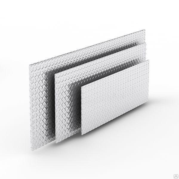 Алюмінієвий лист рифлений 1х1000х2000 мм