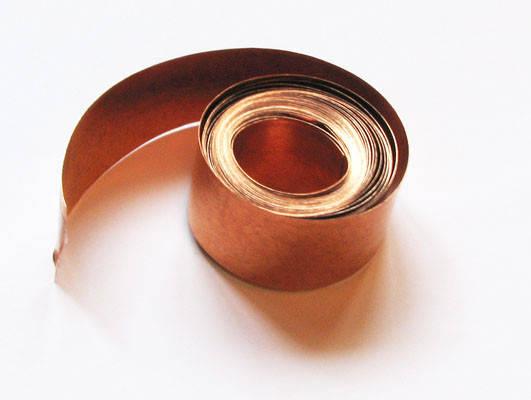 Лента медная мягкая М1 1х20 мм, фото 2