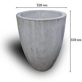 Цветочница бетонная В-23 (70 кг  52*55)