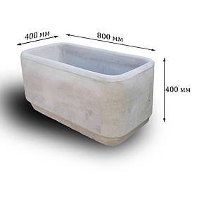 Цветочница бетонная К-32 (110 кг  80*40*40)