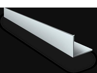 Уголок алюминиевый АД31 10х10х2 мм