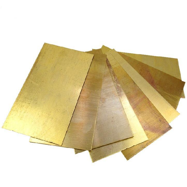Лист латунь полутвердый Л63 2х1000х2000 мм