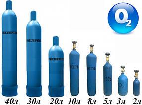 Баллон кислородный очищенный 2 л