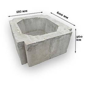 Цветочница бетонная К-22 (70 кг  68*60*36)