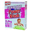 Стиральный порошок Power Wash детский Baby Sensitive, 2,4 кг