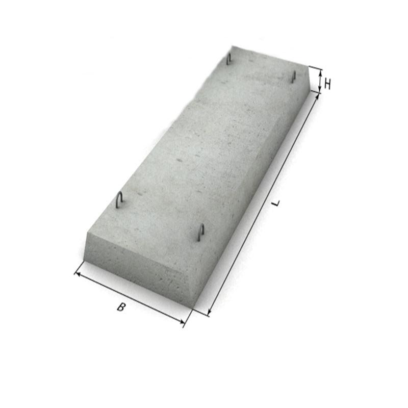 Бетонные проступи 1200х410х60 мм