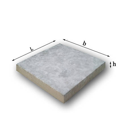 Плита тротуарная   500х500х70 мм, фото 2