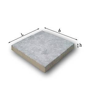 Плита тротуарная  500х500х70 мм не армированная