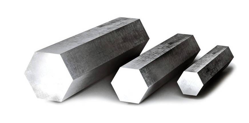 Шестигранник калиброванный ст.45 41 мм, фото 2