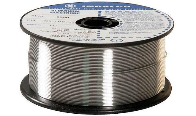 Проволока сварочная алюминиевая ER 5356 3,2 мм, фото 2