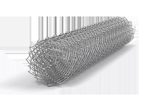 Сетка рабица оцинкованая 35х35х1,8 мм 1,5м