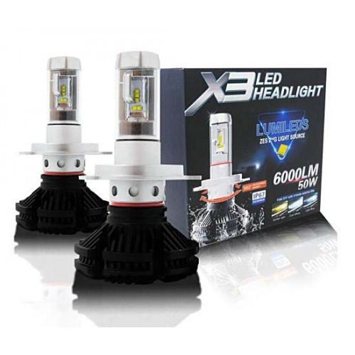 Автомобильная LED лампа X3-H11