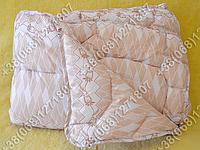Одеяло детское 110х140 холлофайбер теплое Merkys цветной поликоттон