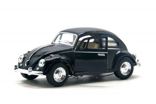 "Машинка KINSMART ""Volkswagen Classical Beetle"" (черная) KT5057W"