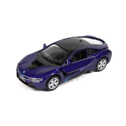"""Машинка KINSMART """"BMW i8"""" (синяя) KT5379WA"""