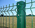 Столб для забора: высота 1,7 метра (60х40мм) зеленый, фото 5