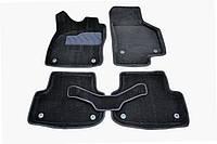 Коврики в салон 3D для Audi A3 2012- /Черные 5шт 86850