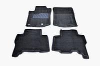 Коврики в салон 3D для Toyota Prado 150 2013- /Черные 5шт 81971
