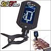 Хроматический тюнер для настройки гитары и других инструментов на клипсе