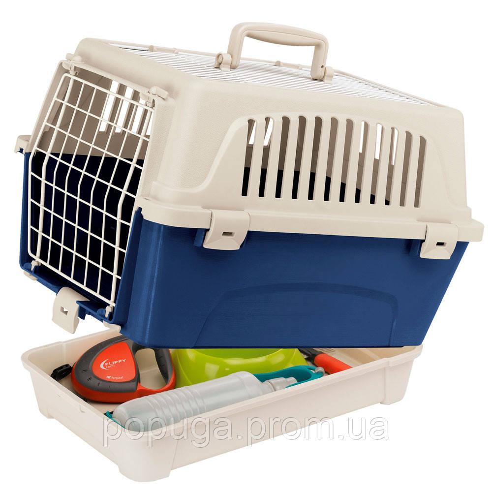 Переноска для кошек и мини собак Atlas 10 Organizer Open Ferplast, 47,6*33,2*33,6см