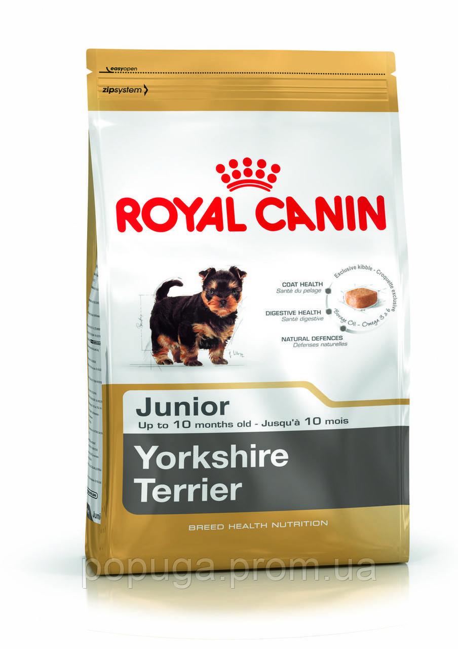 Royal Canin Yorkshire Terrier Junior корм для йорків, 1,5 кг