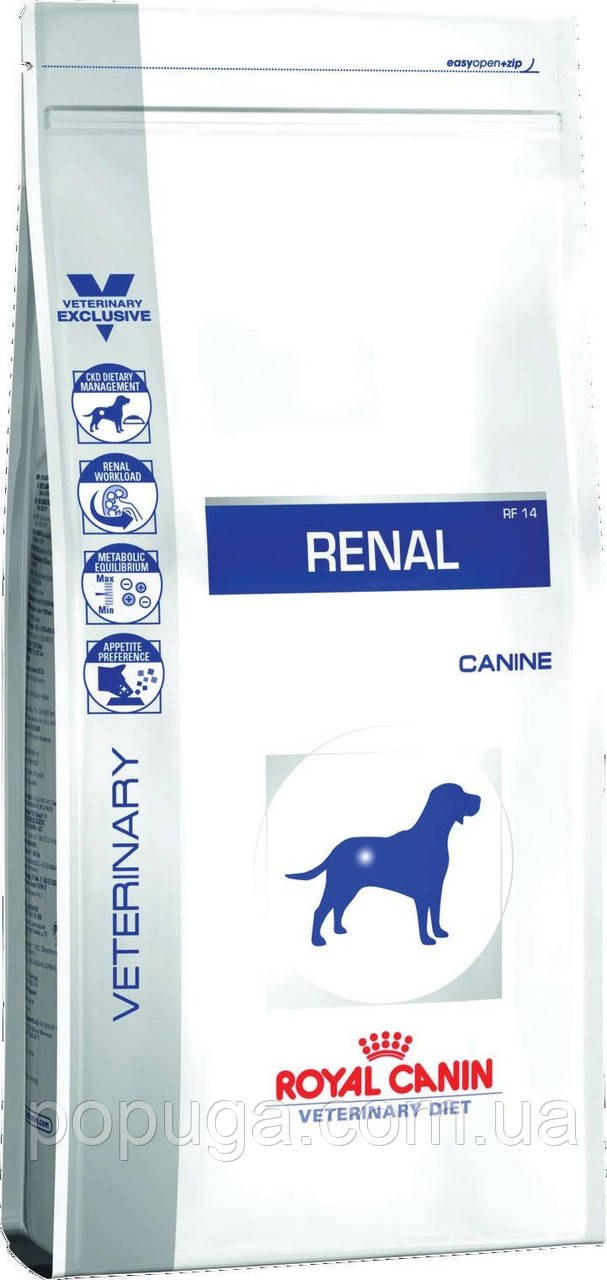 Royal Canin RENAL корм для собак з хронічною нирковою недостатністю, 2 кг