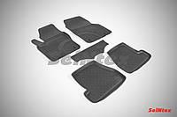 Килимки в салон для Ford Focus III 2011-2015 гумові, кт-5шт