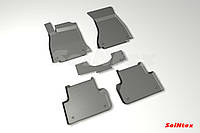 Коврики в салон для Audi A4 (B9) 2015- резиновые, кт 5шт