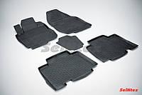 Коврики в салон для Toyota Rav4 2006-2012 Long резиновые, кт 5шт