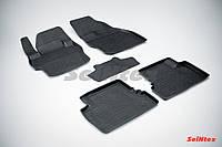 Килимки в салон для Mazda 3 2009-2013 гумові, кт-5шт