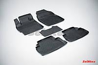 Килимки в салон для Mazda CX-7 2006-2012 гумові, кт-5шт