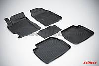 Килимки в салон для Mazda 6 2008-2012 гумові, кт-5шт