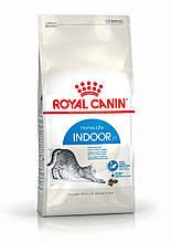 Royal Canin Indoor корм для кішок до 7 років, які живуть у приміщенні, 4 кг