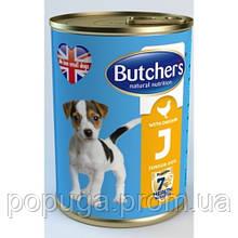 Butcher's Junior консервы для щенков с курицей для щенков, 400 г