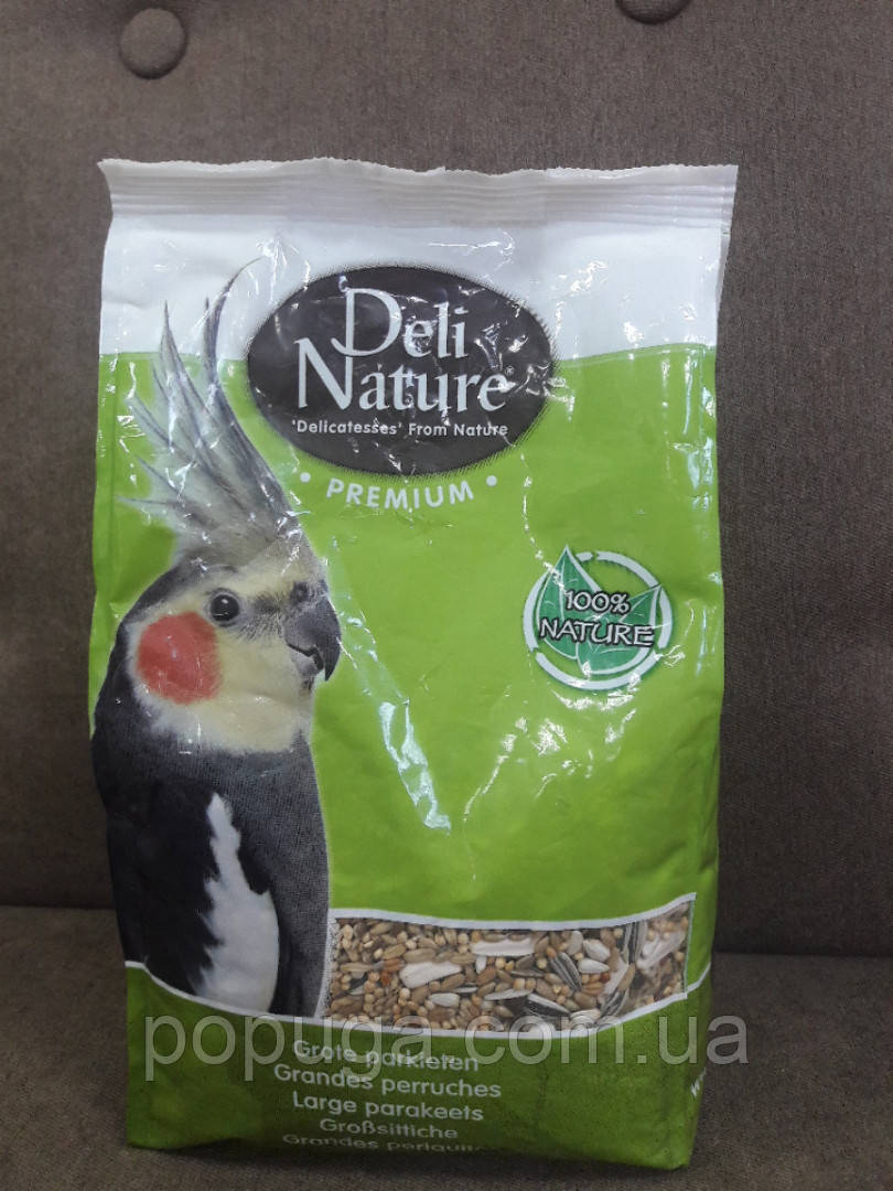Корм для середніх папуг Deli Nature Premium 1 кг